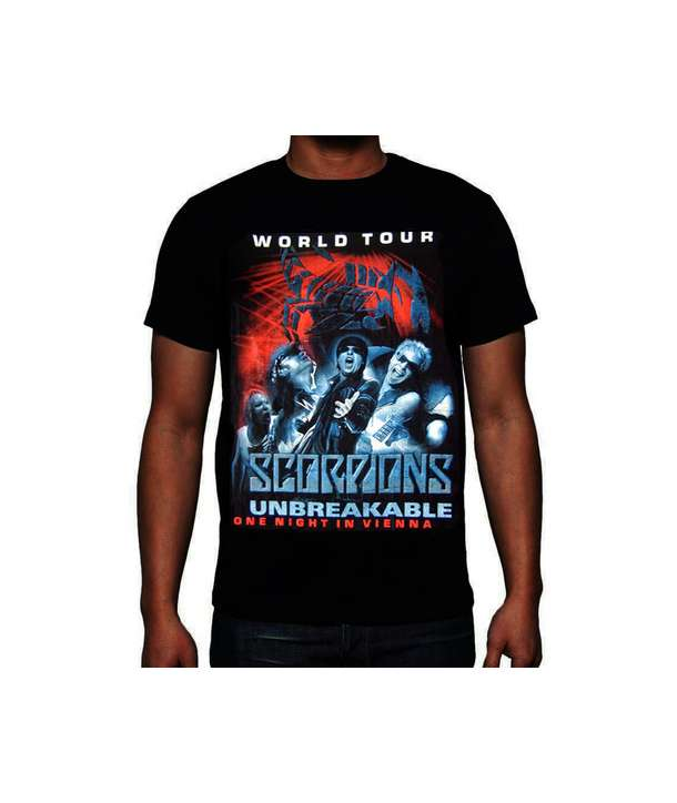 Camiseta SCORPIONS - World Tour