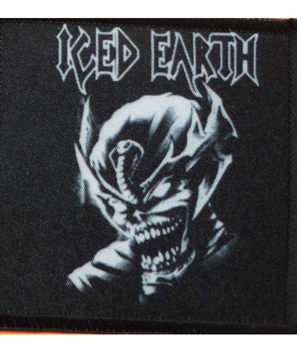 Parche ICED EARTH - Skull