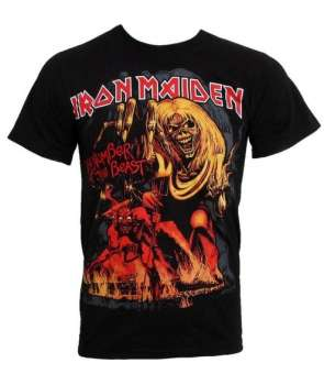 a6442920a Camiseta IRON MAIDEN - Number Of The Beast