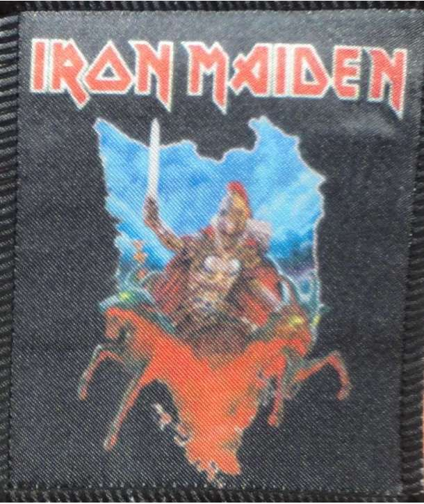 Parche IRON MAIDEN - Eddie Sword