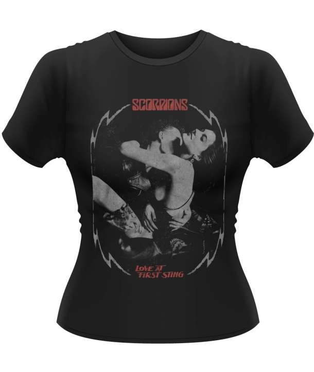 Camiseta para chica SCORPIONS - Love At First Sting