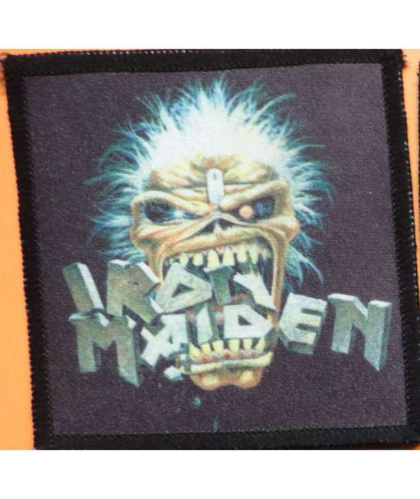 Parche IRON MAIDEN - Eddie Crack