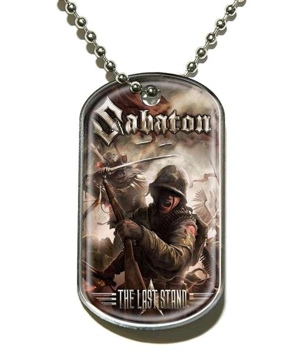 Colgante SABATON - The Last Stand Dog Tag