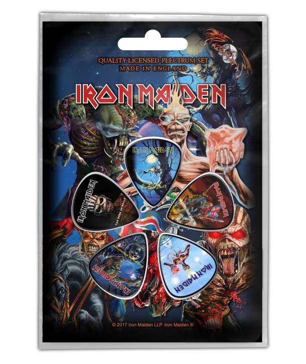 Pack púas IRON MAIDEN - Later Albums