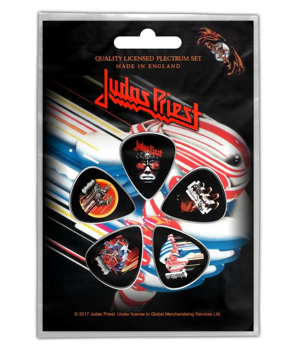 Pack púas JUDAS PRIEST - Albums