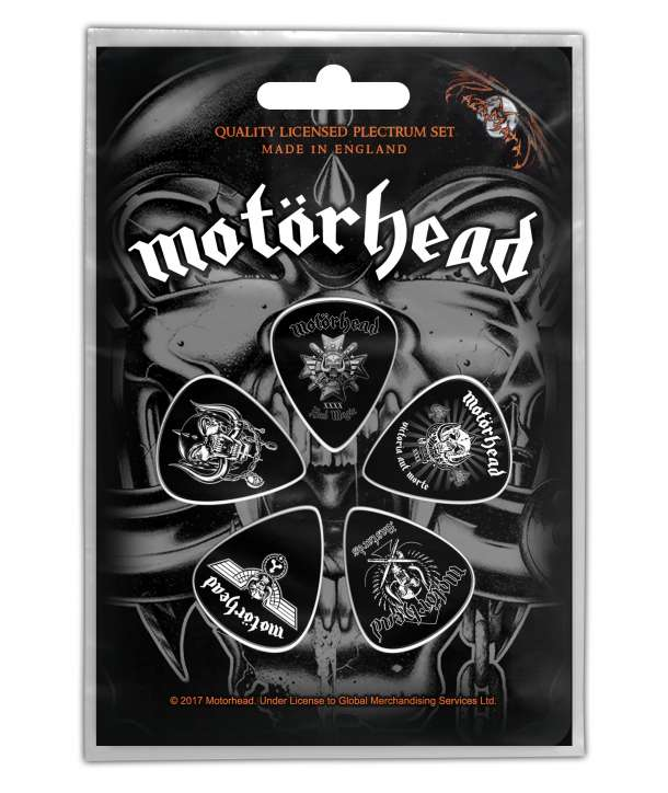 Pack púas MOTORHEAD - Bad Magic
