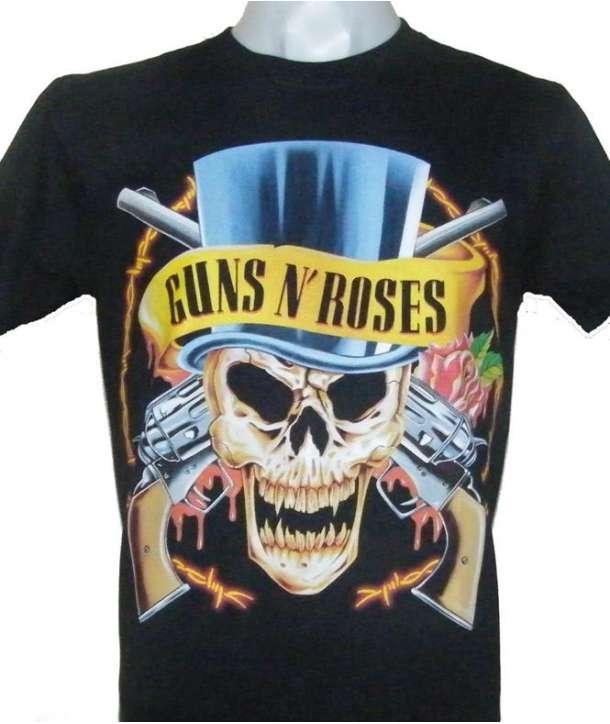 Camiseta GUNS N ROSES - Skull Hat