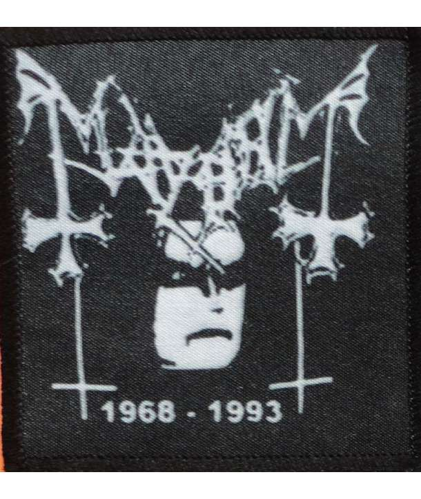 Parche MAYHEM - 1968-1993