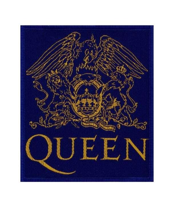 Parche QUEEN - Logo Azul