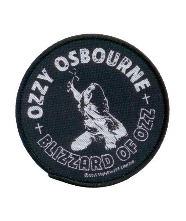 Parche OZZY OSBOURNE - Blizzard Redondo
