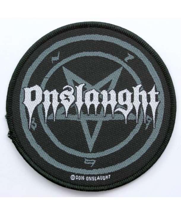 Parche ONSLAUGHT - Logo Pentagram