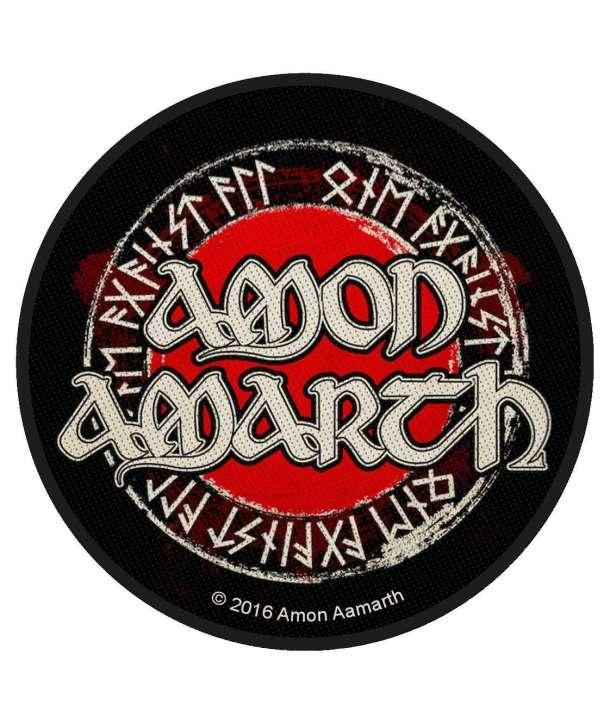 Parche AMON AMARTH - Logo Runas redondo