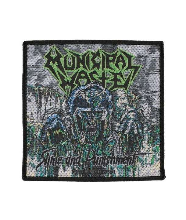 Parche MUNICIPAL WASTE - Slime And Punishment
