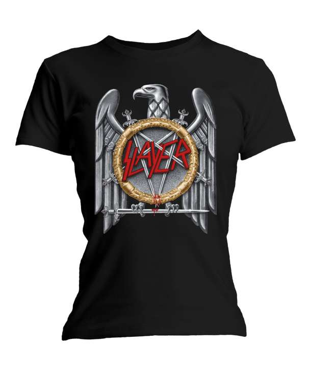 Camiseta para chica SLAYER - Silver Eagle