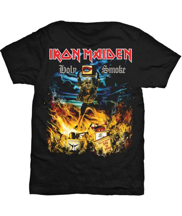 Camiseta IRON MAIDEN - Holy Smoke