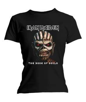 d4e7b8b6ef Camiseta para chica IRON MAIDEN - Book Of Souls