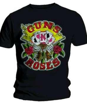 d3b276bcb0 Camiseta GUNS N ROSES - Cards