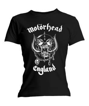 464adcad76 Camiseta para chica MOTORHEAD - England ...
