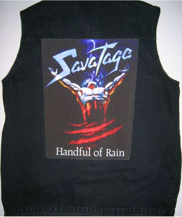 Parche para espalda SAVATAGE - Handful Of Rain
