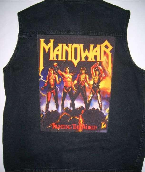 Parche para espalda MANOWAR - Fighting The World