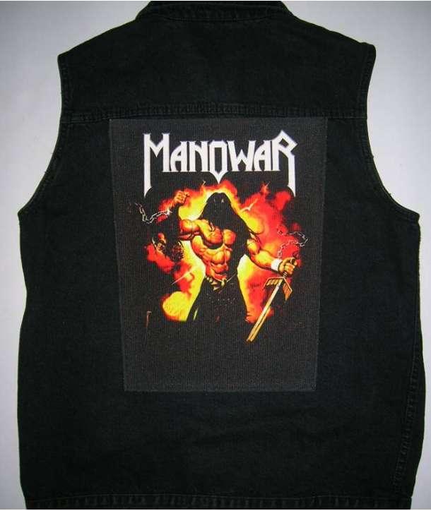 Parche para espalda MANOWAR - The Dawn Of The Battle