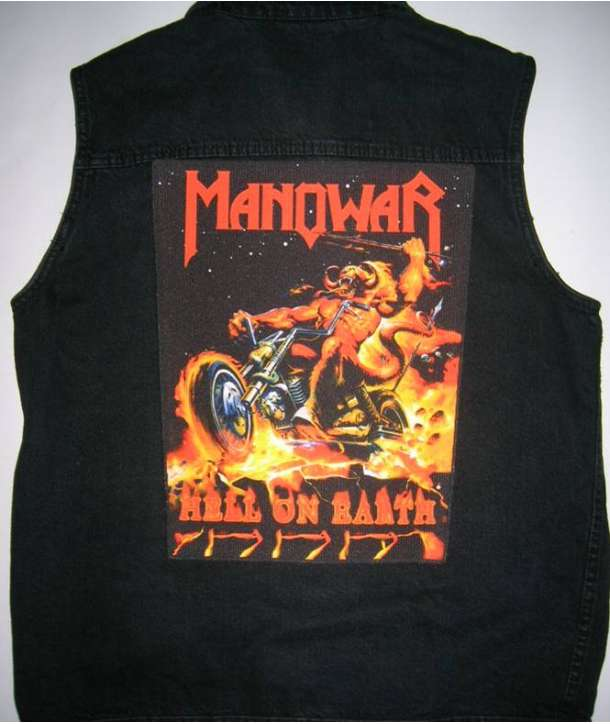 Parche para espalda MANOWAR - Hell On Earth