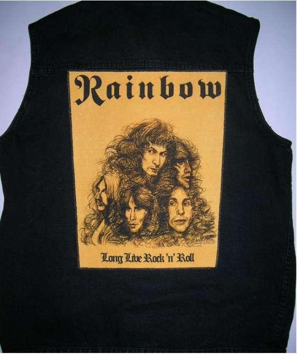 Parche para espalda RAINBOW - Long Live Rock and Roll
