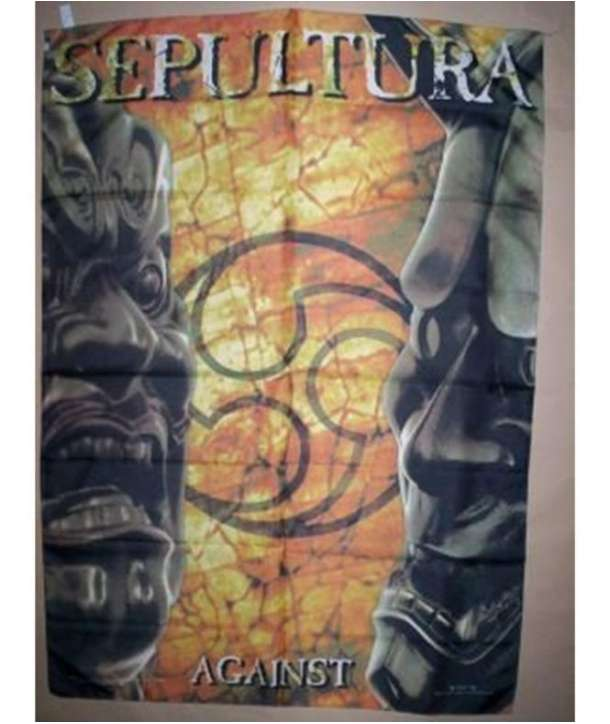 Bandera SEPULTURA - Against