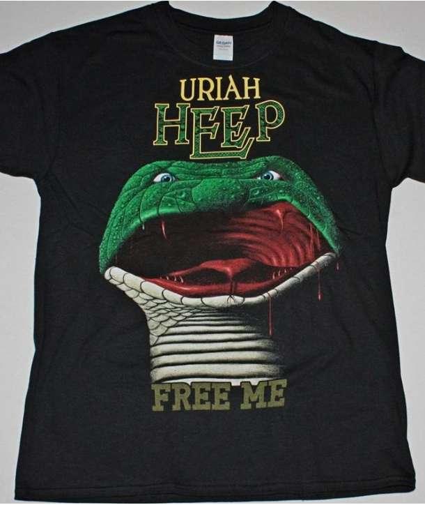 Camiseta URIAH HEEP - Free Me