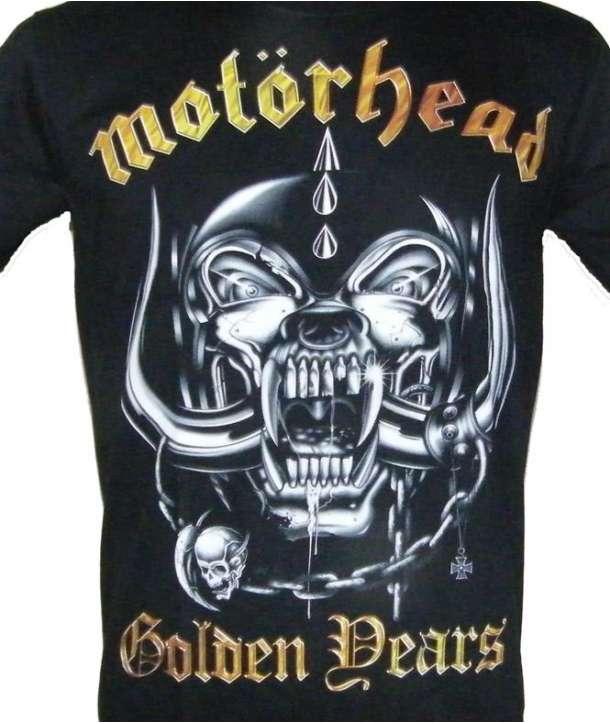 Camiseta MOTORHEAD - Golden Years