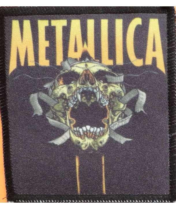 Parche METALLICA - Green Skull