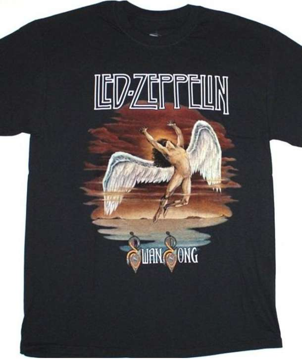 Camiseta LED ZEPPELIN - Swan Song