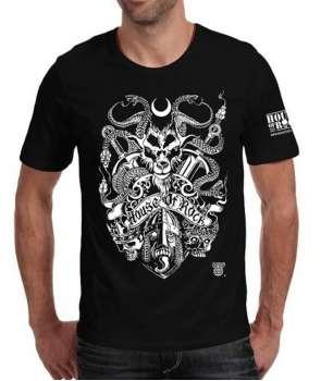 Camiseta HOUSE OF ROCK - Madness Chaos 0e1c462f41e54
