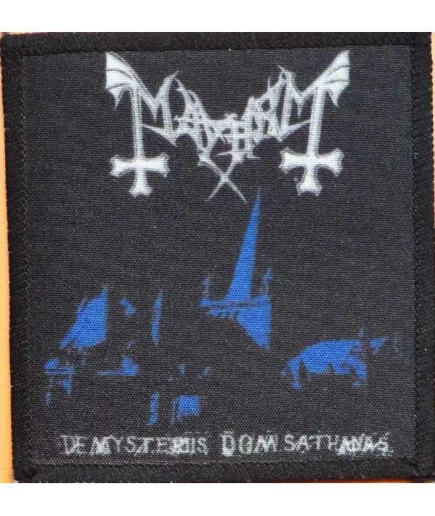 Parche MAYHEM - De Mysteriis Dom Sathanas