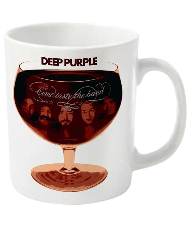 Taza DEEP PURPLE - Come Taste The Band