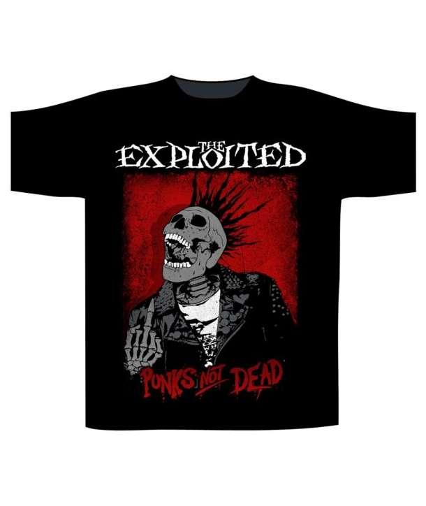 Camiseta THE EXPLOITED - Punks Not Dead