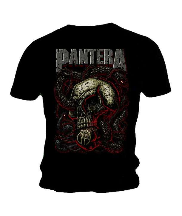 Camiseta PANTERA - Skull And Snakes