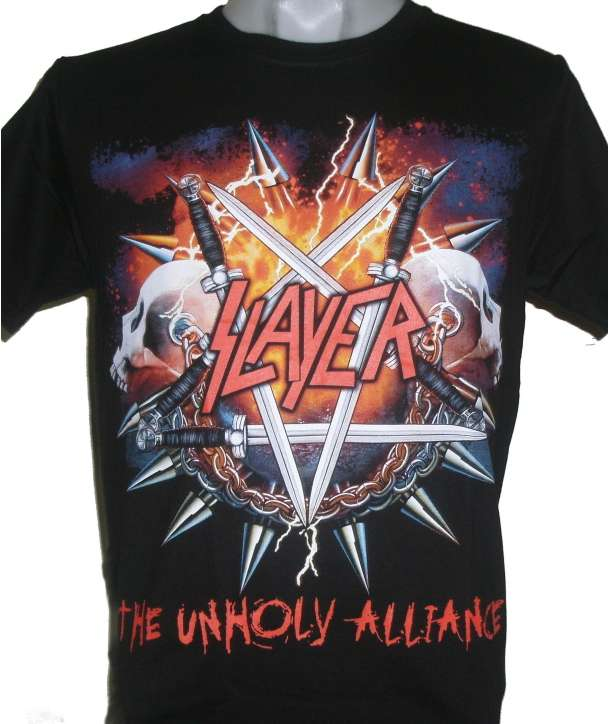 Camiseta SLAYER - Unholy Alliance