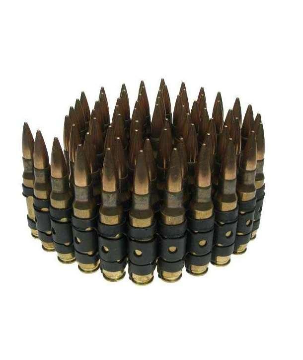 Cinturón balas doradas