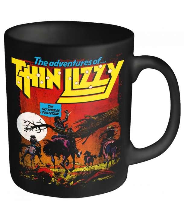 Taza THIN LIZZY - Hit Singles Adventures