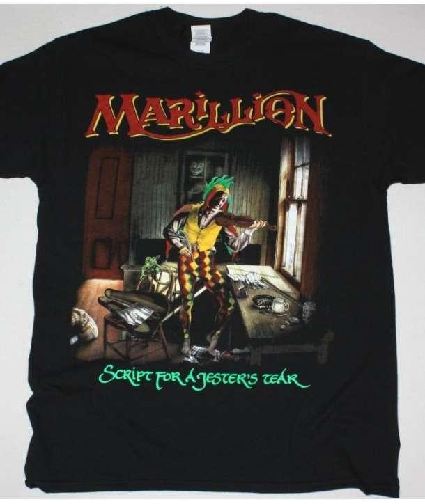 Camiseta MARILLION - Script For A Jester's Tear