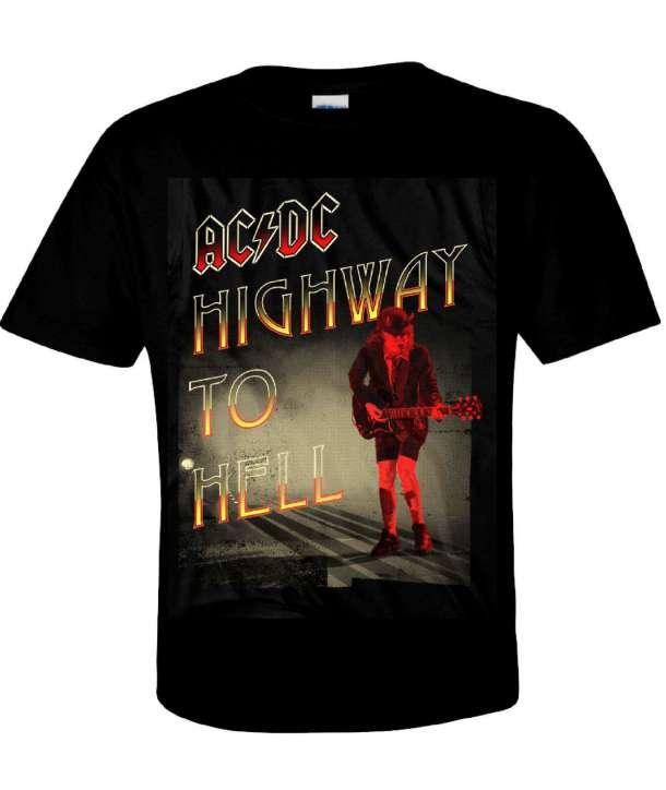 Camiseta ACDC - Highway Angus