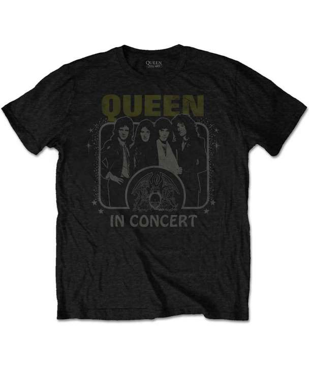 Camiseta QUEEN - In Cooncert