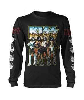 33f7974201c52 Camiseta KISS - Love Gun Manga Larga ...