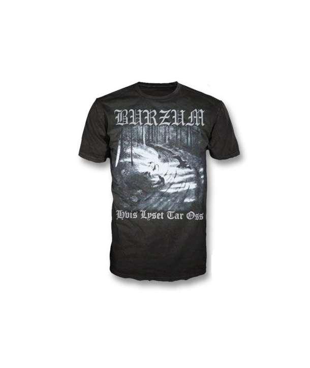 Camiseta BURZUM - Hvis Lyset Tar