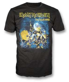 35e9f674a Camiseta IRON MAIDEN - Live After Death ...