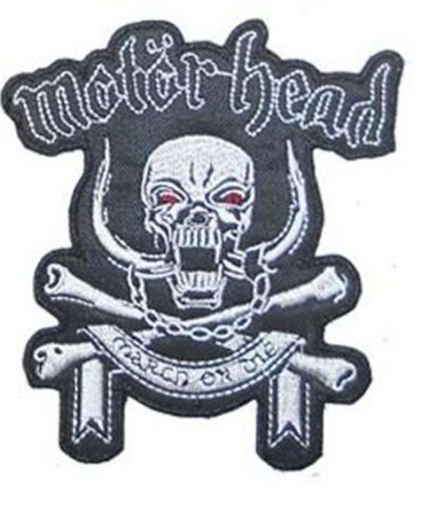Parche MOTORHEAD - March Or Die Bordado