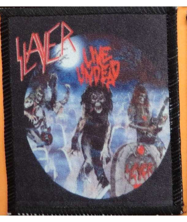 Parche SLAYER - Live Undead