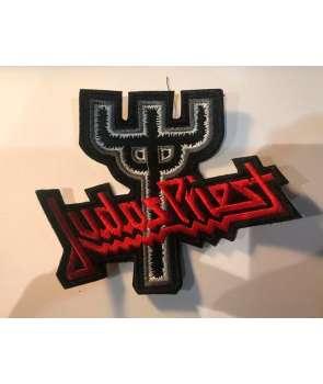 Parche JUDAS PRIEST - Logo Tridente Bordado 3ce745cdcea