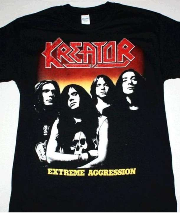 Camiseta KREATOR - Extreme Agression